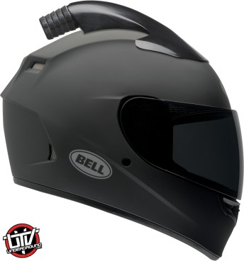 Bell Qualifier Forced Air side by side helmet gloss black right