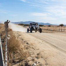 Jagged X Racing going through Ojos Negros, Baja California, Mexico at 2018 Baja 1000