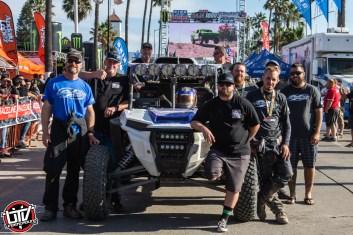 Jagged X Racing Team at 2018 Baja 1000 Finish