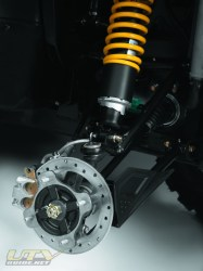 2011 Can-Am Commander Disc Brakes