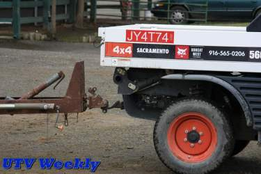 Bobcat Toolcat 5600 Hitch Receiver