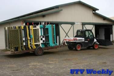 Bobcat Toolcat 5600 Towing