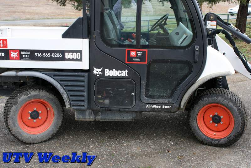 Bobcat Toolcat 5600 does the work of many machines at