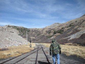 Railroad Tracks near Alpine