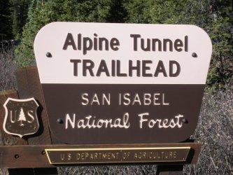 Alpine Tunnel Trailhead