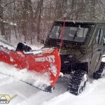 Polaris Ranger HD used for Hunting, Plowing and Yard Maintenance