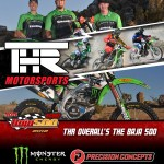 THR / Monster Energy / Precision Concepts Kawasaki KX450F Team Takes A Resounding Win At The Baja 500
