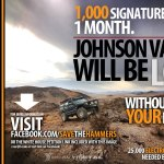 1,000 Signatures a Day Needed to Help Save Johnson Valley