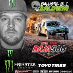 BJ Baldwin Adds Another Podium Finish to his Impressive Record at the Baja 500