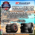 Win a Set of BFGoodrich® Tires