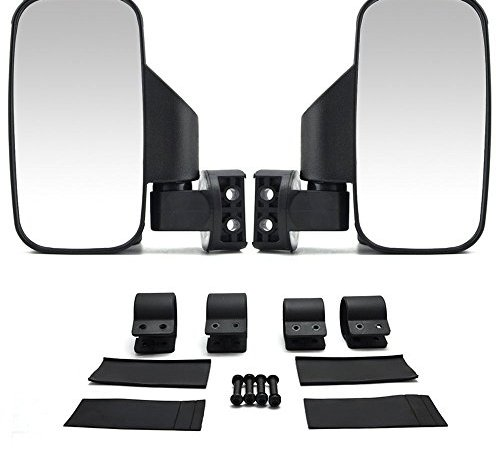 Issyzone Utv Side View Mirrors With 1 75 Or 2 Roll Bar