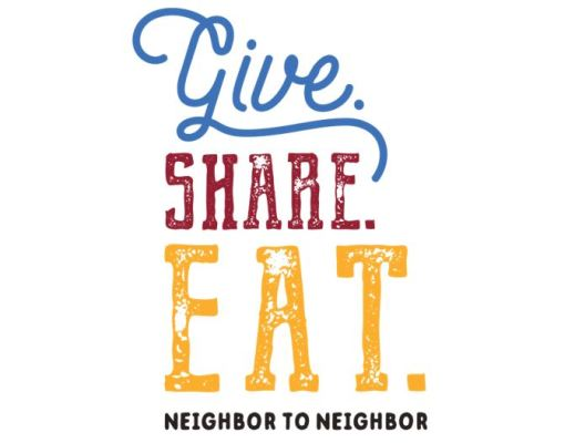 Give. Share. Eat.