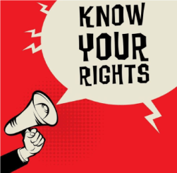 """Megaphone: """"Know Your Rights"""""""