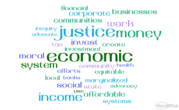 Word cloud_ economic justice