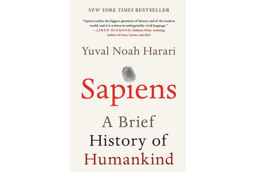 Cover of Sapiens: A Brief History of Humankind