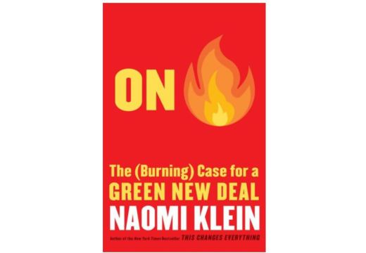 Cover of On Fire: The (Burning) Case for a Green New Deal
