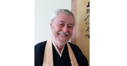 Rev. James Ford, Roshi, in rakusu