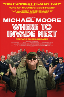 Poster for Michael Moore_s film Where to Invade Next