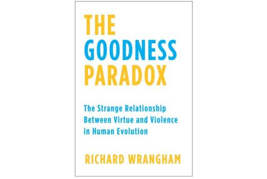 Cover of The Goodness Paradox: The Strange Relationship Between Virtue and Violence in Human Evolution by Richard Wrangham
