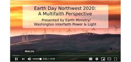 Earth Day Northwest 2020: A Multifaith Perspective