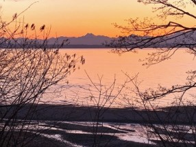 Carkeek Park sunset
