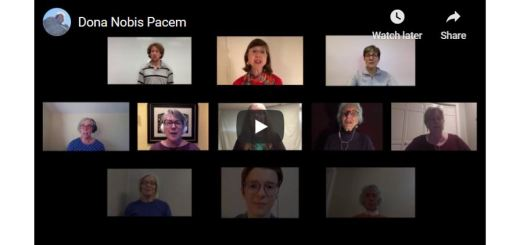 Screen shot of the opening of the IGC Dona Nobis Pacem video