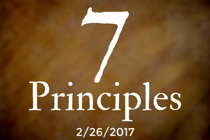 The 7 Principles, Part Two: Justice, Equity & Compassion