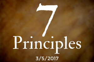 The 7 Principles, Part Three: Acceptance & Encouragement of Spiritual Growth