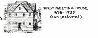 sketch of first Meeting House