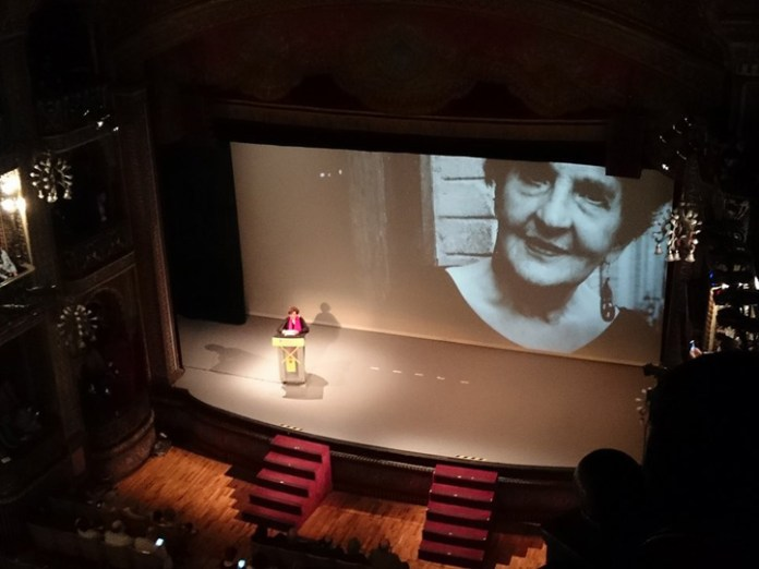Margo Glantz, discurso de agradecimiento por la Presea Cervantina