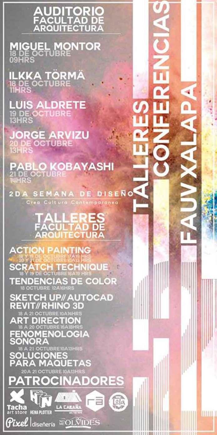 El evento es organizado por estudiantes y académicos de la Facultad de Arquitectura