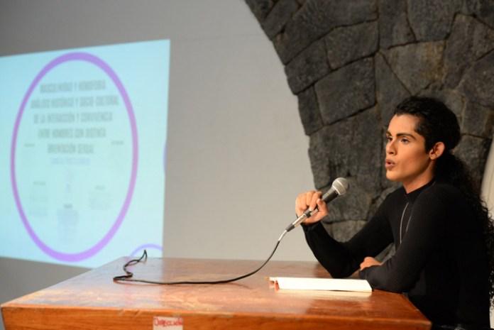 Gamaliel Peralta Barrios, estudiante de la Facultad de Historia