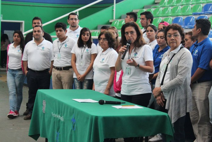 Rocío Liliana González Guerrero, directora de Pedagogía, clausuró las actividades de Expo Orienta 2016