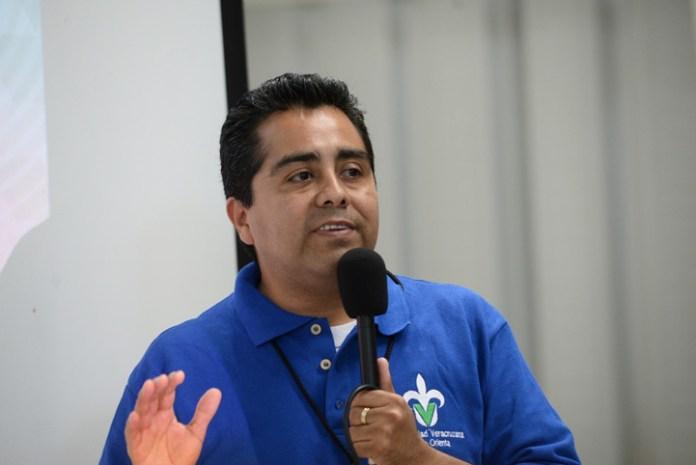 Amador Jesús González Hernández, coordinador del taller