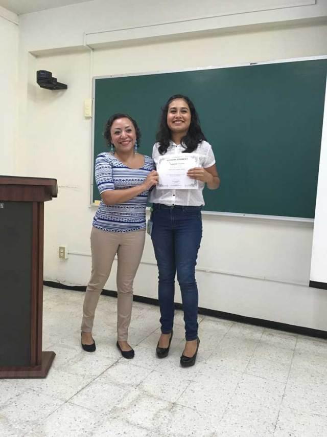 Génesis Campo García fue nombrada presidenta de la sección estudiantil sureste central de la NACE