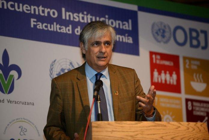 Antonio Molpeceres, coordinador residente del sistema de la Organización de las Naciones Unidas (ONU) en México