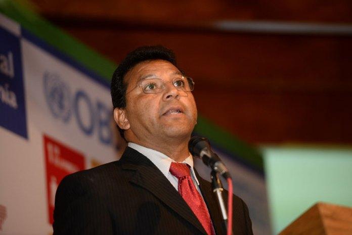Arturo Bocardo Valle dio la bienvenida al representante de la ONU en México