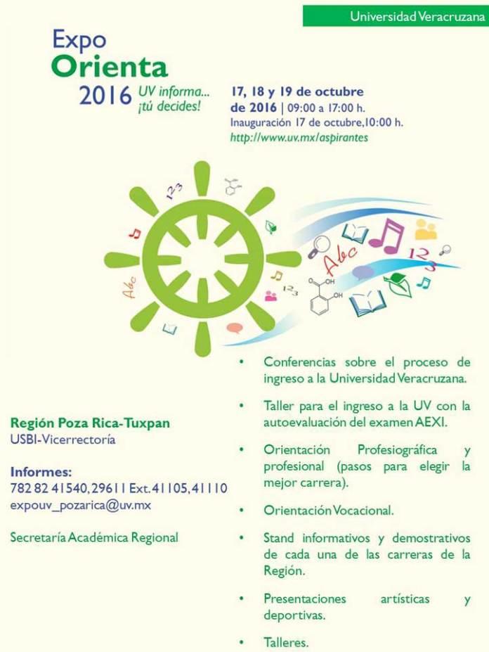Cartel Expo Orienta 2016