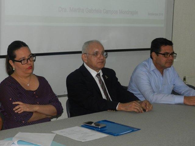 Martha Gabriela Campos, directora de Nutrición