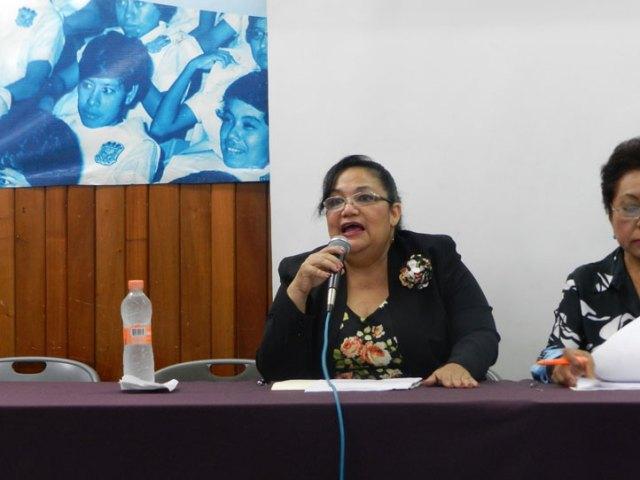 María Elena Ruiz Montalvo, directora de Enfermería