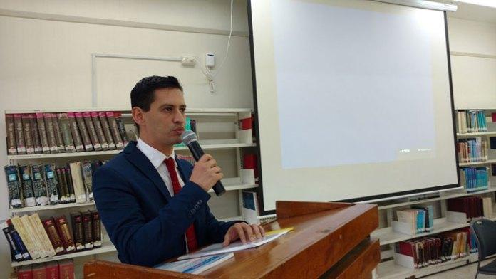 Joaquín Romero Ricavar, director de la Facultad de Odontología en Río Blanco