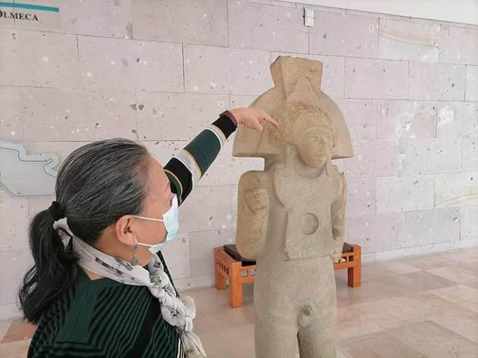 Escultura masculina de El Naranjo