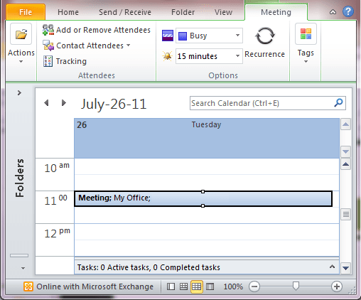 Cancel Meeting Request Outlook 2010 And 2017