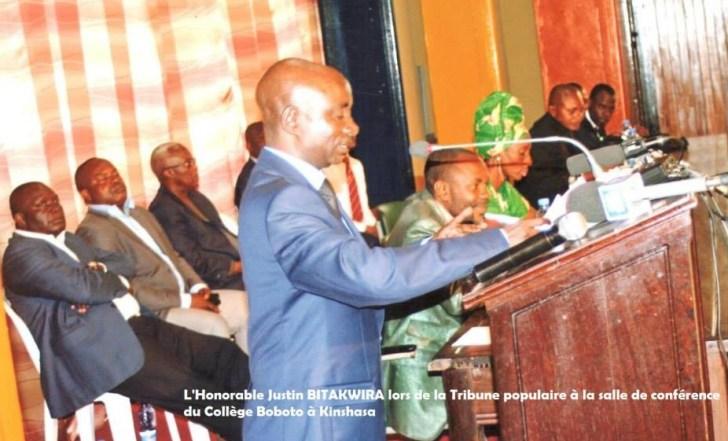 Bitakwira Justin opposition citoyenne2