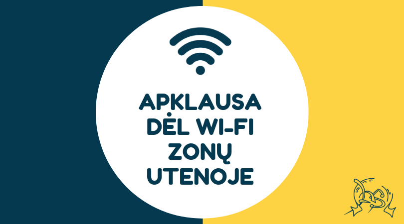 Apklausa dėl Wi-Fi zonų Utenoje