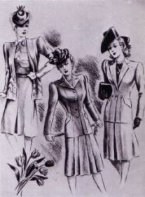 1940s Utility Clothes