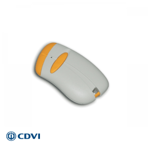CDVI handzender 1-kanaals 433