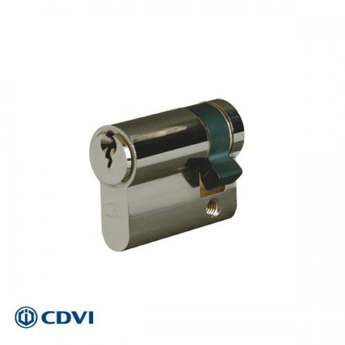 Halve euro cilinder
