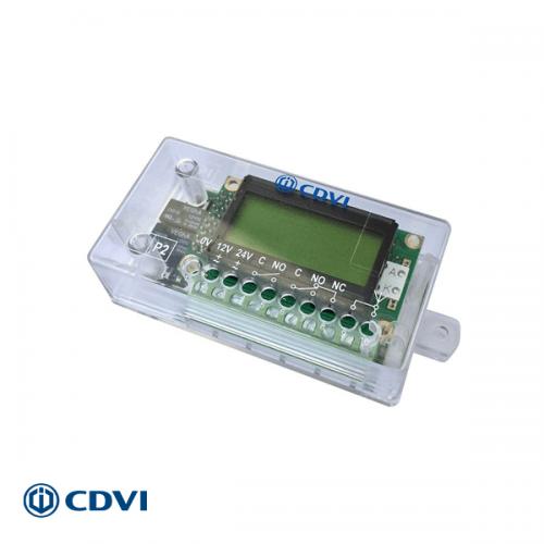 CDVI ontvanger met display 433 Mhz