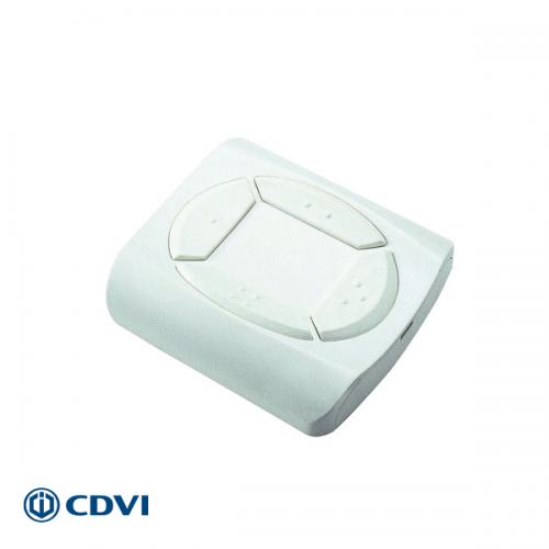 CDVI Muurzender 433 MHZ - 4 kanalen